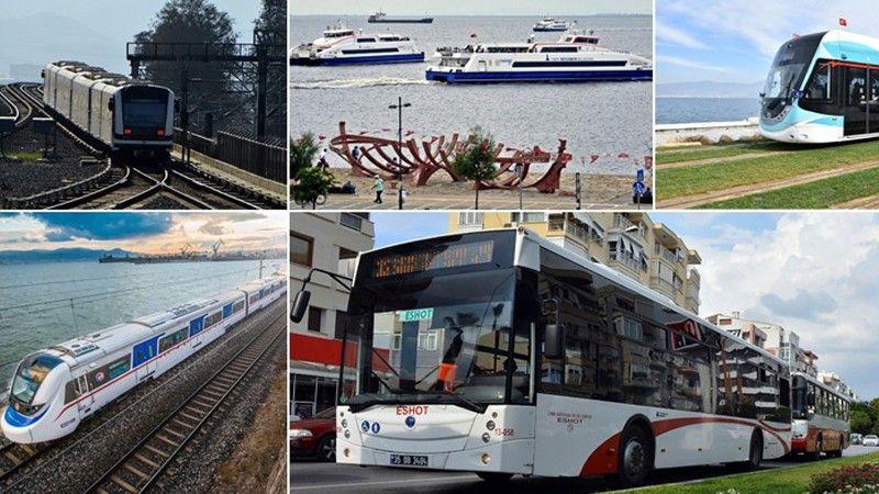 İzmirlilere toplu ulaşımı kullanın çağrısı
