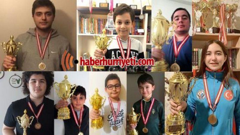 Online Satranç Turnuvası'nda ödüller sahiplerini buldu