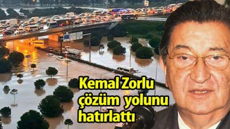 Kemal Zorlu: Su baskınları doğru altyapı ile önlenir