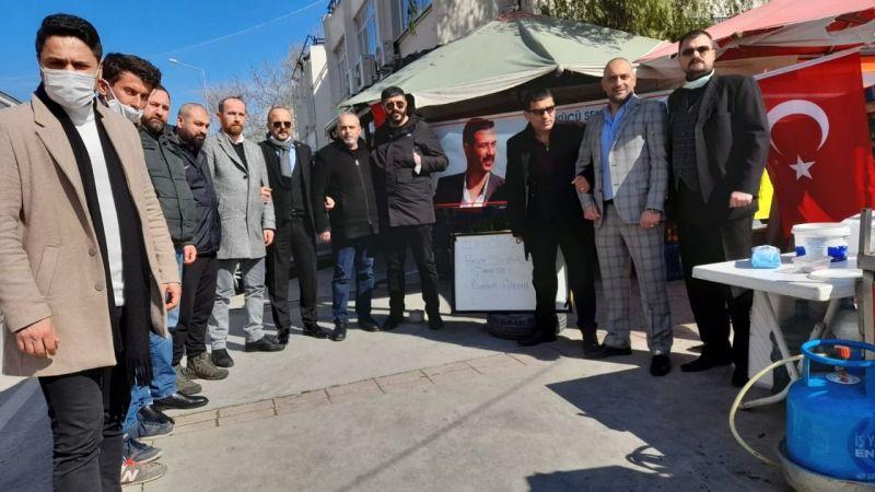 Ülkücüler Şehit Çakıroğlu için Lokma Döktürdü