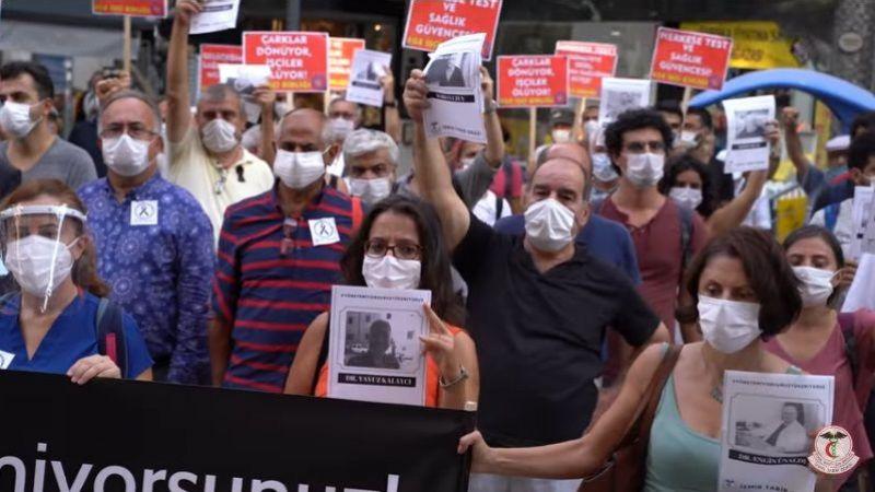 Doktorlar Pandemide yaşadıklarını anlattı