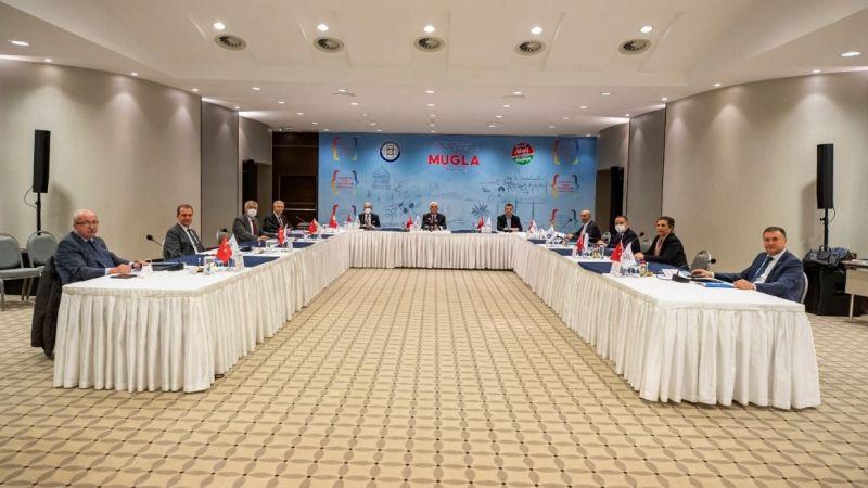 11 Büyükşehir'in başkanları Muğla'da buluştu