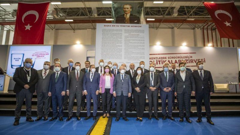 Büyükşehir Başkanları İzmir'den Su manifestosu yayınladı