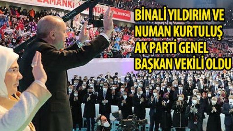 AK Parti 7. Olağan Kongresi'ni yapıyor