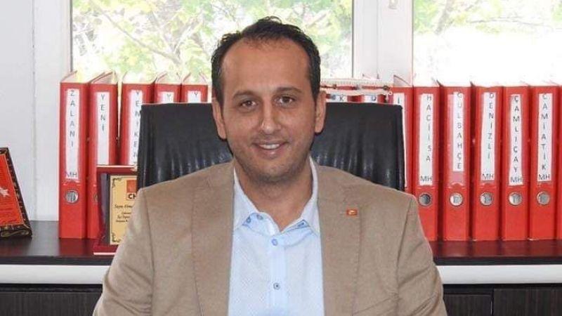 CHP ilçe başkanı Özbatur da Covit 19'a yakalandı