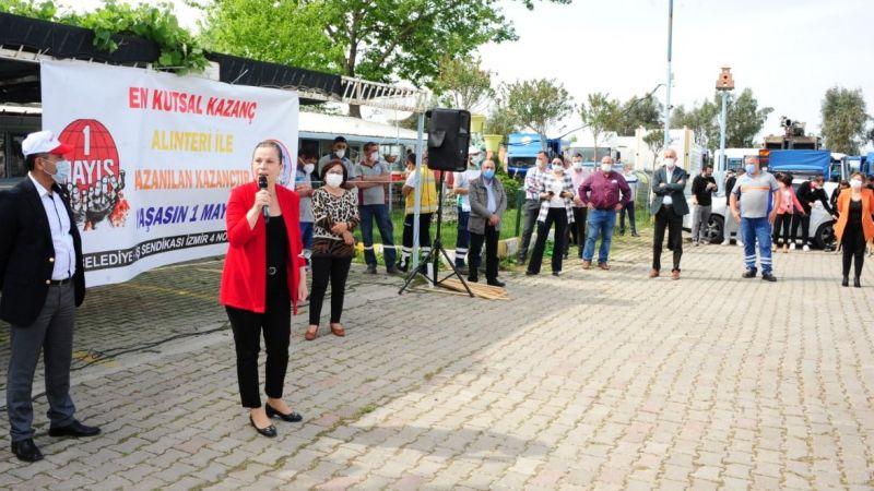 Balçova'da 1 Mayıs Bayramı