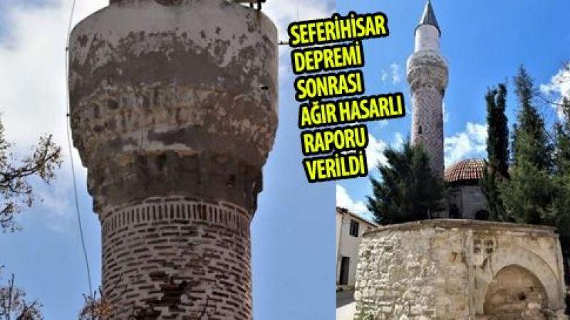 Urla'daki Güdük Minareli Camii yıkılmayacak