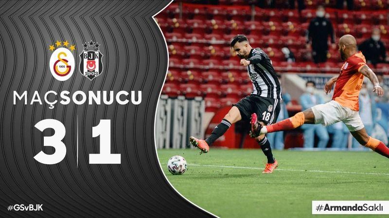 Dev derbiyi Galatasaray kazandı: 3-1