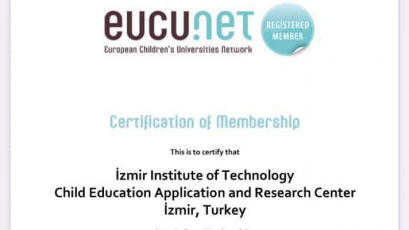 İYTE Çocuk Üniversitesi, Avrupa Çocuk Üniversiteleri Ağı üyeliğine seçildi