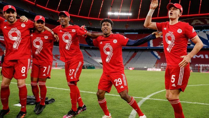 Bayern Münih dokuzuncu kez arka arkaya Almanya şampiyonu oldu