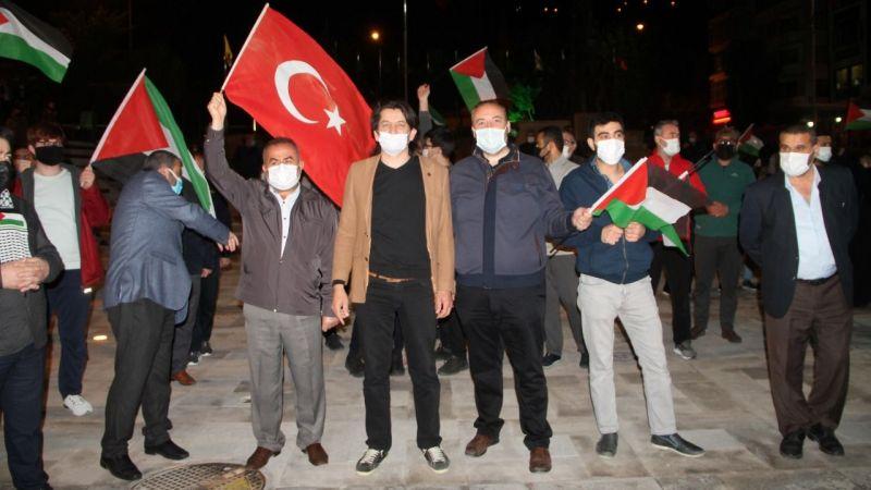 İsrail'i protesto eylemleri