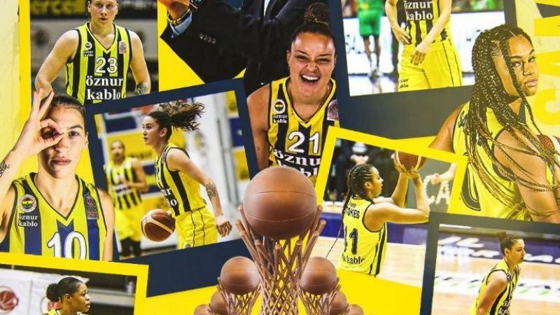 Fenerbahçe Öznur Kablo namağlup şampiyon oldu
