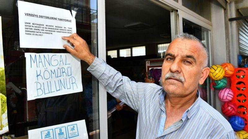 İzmir'de 102 bakkalın 1 milyon 300 bin liralık borcu kapatıldı