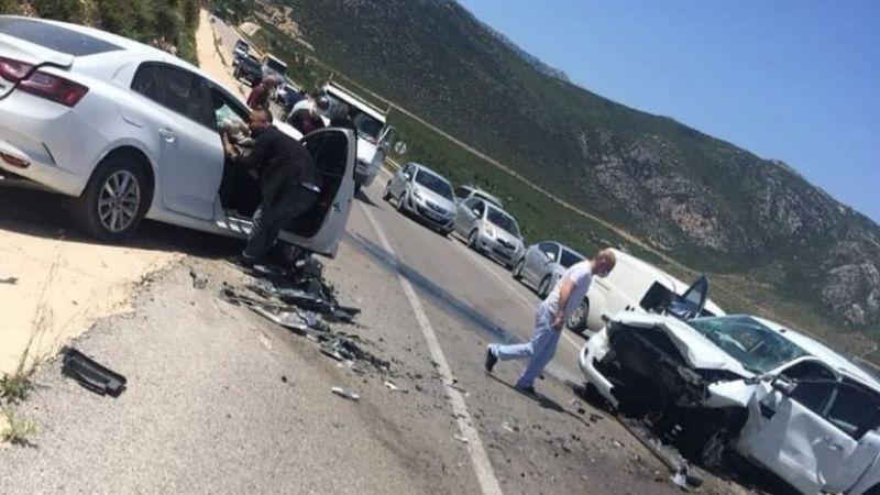 İzmir'de feci kaza ; 1 kişi öldü üç kişide yaralandı