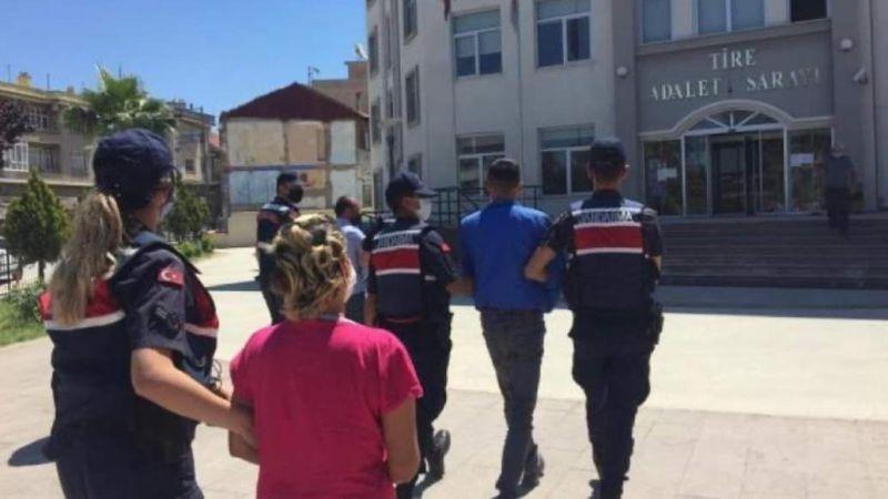 Tire'deki uyuşturucu operasyonu: 2 tutuklama