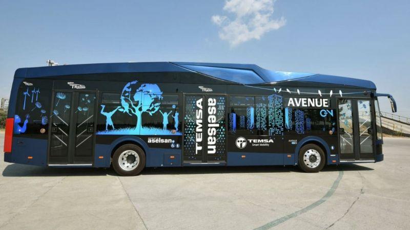 """Samsun, toplu taşımada """"elektrikli otobüse"""" geçiyor"""