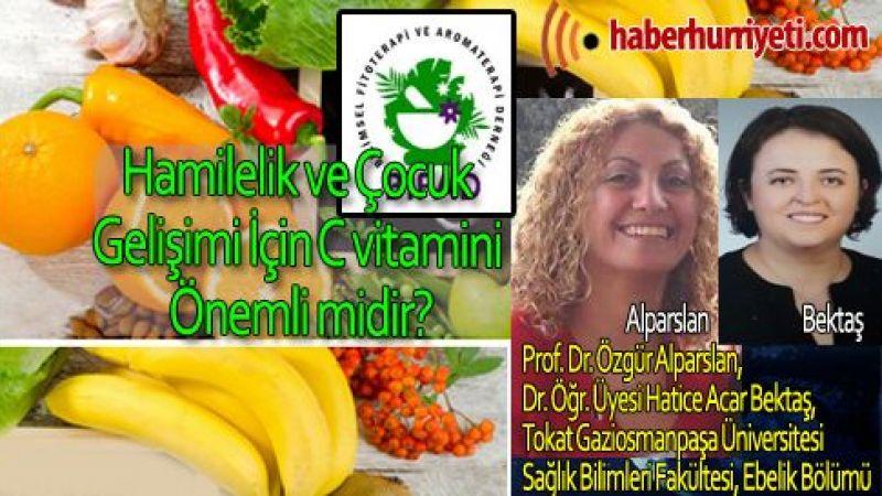 Hamilelik ve Çocuk Gelişimi İçin C vitamini Önemli midir?