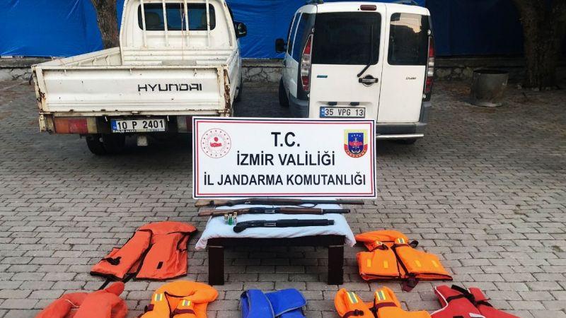 Bağ evinde 32 mülteci yakalandı
