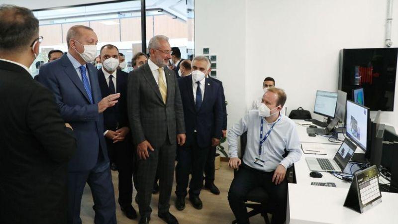 Erdoğan'dan tartışmalı Tank Palet Fabrikası'na ziyaret