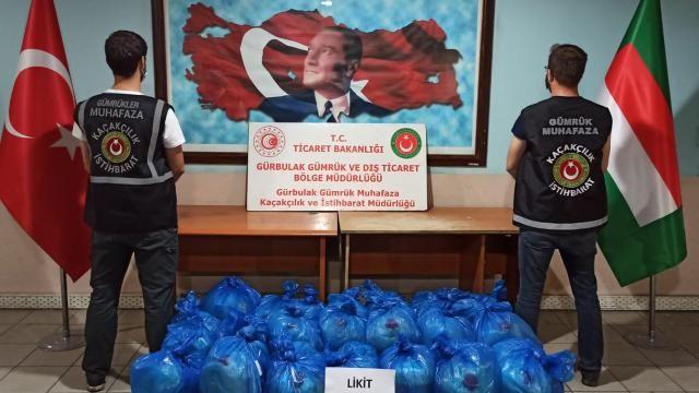 Gürbulak Sınır Kapısında 462 litre likit eroin ele geçti
