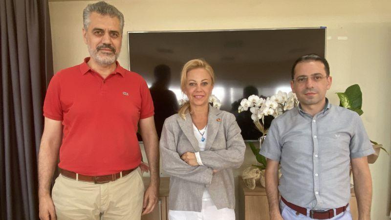Ayan'dan İGC'ye Ziyaret