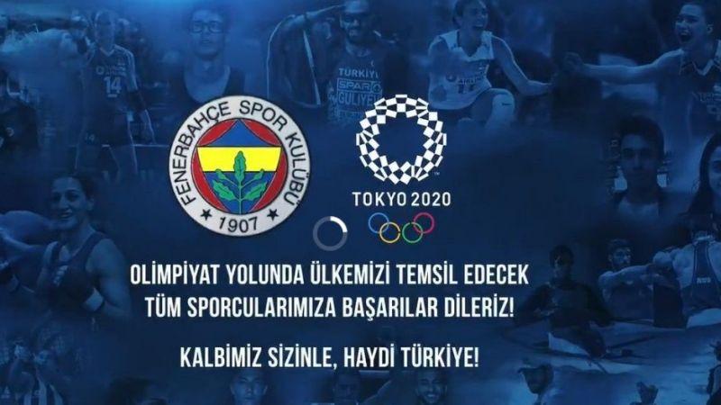 """Fenerbahçe SK: """"Tokyo'da ülkemizi 22 sporcumuzla temsil edeceğiz"""""""
