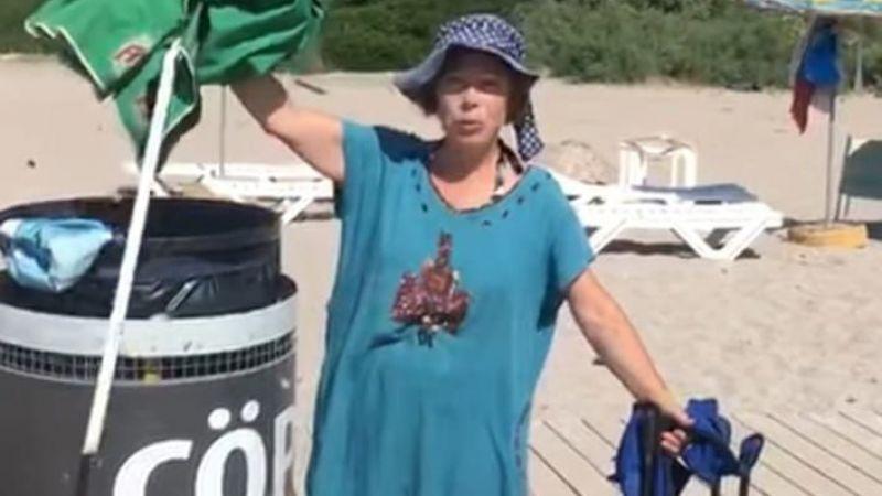 Altınköy plajında örnek proje !.