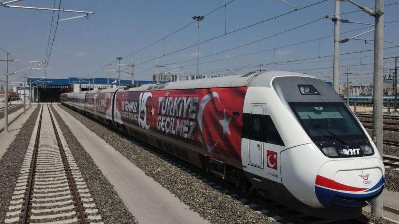 15 Temmuz Demokrasi ve Milli Birlik Treni İstanbul yolunda