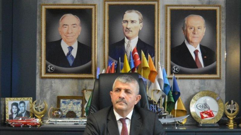 MHP İl Başkanı Şahin: CHP'li Yücel Akif'li Cevabı Bırakmalı Akif'i Yaşamalı