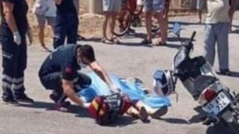 Genç kadın motosikletiyle gider pompalıyla öldürüldü