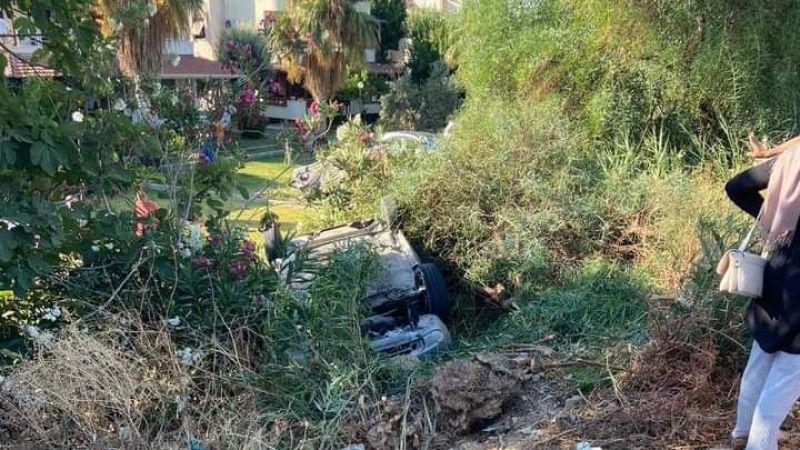 İzmir'de kaza 4 kişi yaralandı