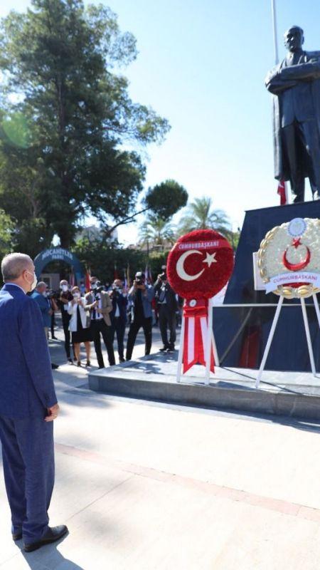 Erdoğan: 2 Devlet kabul edilmeden müzakerelerde ilerleme sağlanamaz