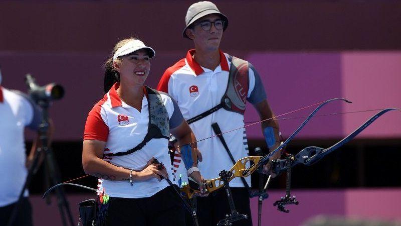 Okçulularımız Tokyo Olimpiyatları'nda 4. oldu