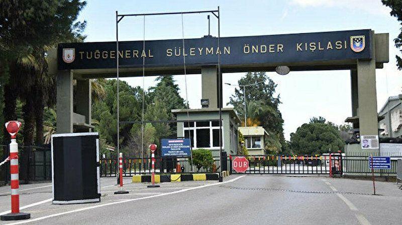İzmir'de Kışlaya Sabotajı Askerler önledi