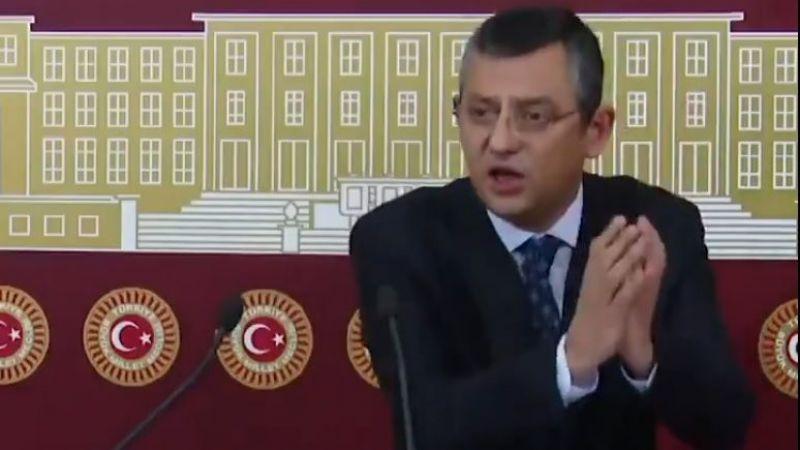 CHP'li Özel: ''Cübbeli amiralin dosyası YAŞ'tan önce sonuçlandırılmalı''