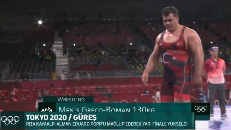 Tokyo 2020: Rıza Kayaalp bronz madalya maçına çıkacak