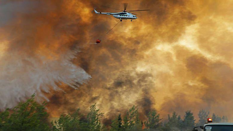 Manavgat'ta 2 bin 800 yapı yangında kül oldu