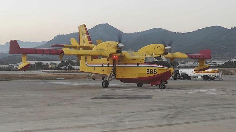 ABD'den yangın söndürme helikopteri, Hırvatistan'dan uçak geldi