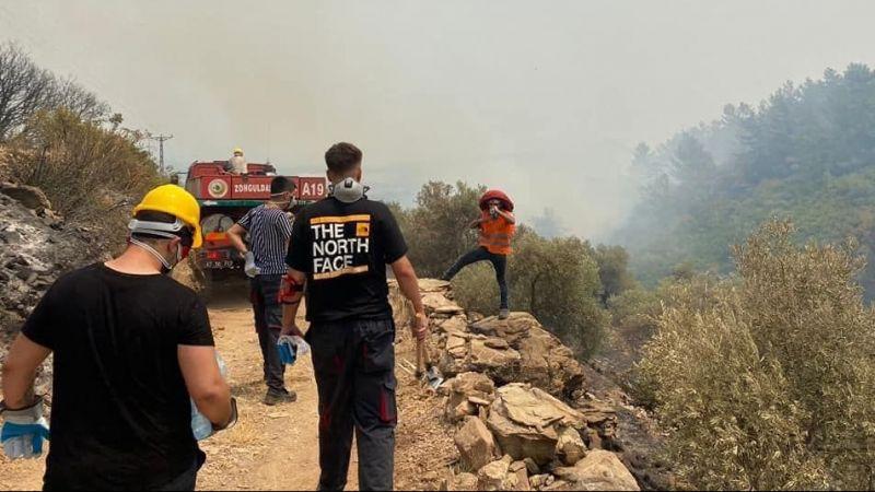 Kemalpaşa Belediyesi Muğla'ya omuz verdi