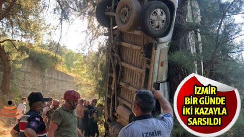 Kemalpaşa'da trafik faciası: 8 ölü, 9 yaralı