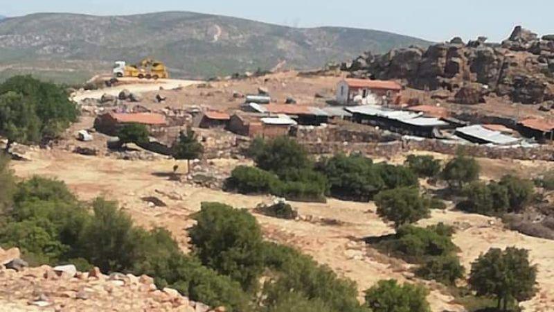 Çeşme Germiyan'da RES için tarih-orman katliamı