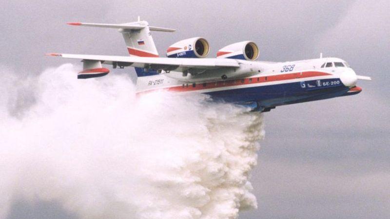 Orman yangınında facia: Düşen söndürme uçağında 8 kişi öldü