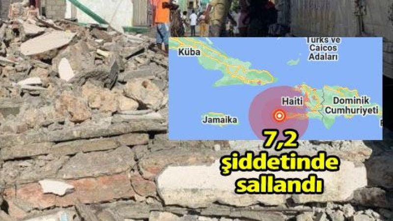 Haitide'ki deprem: 724 ölü