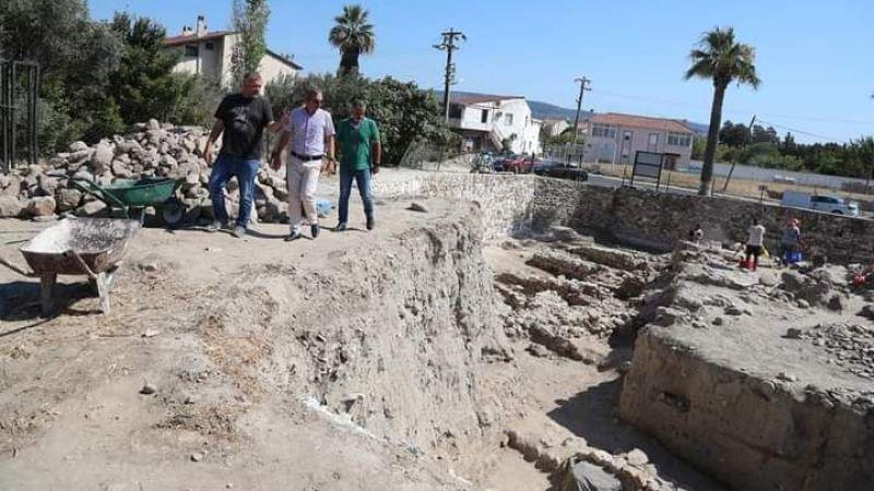 Dayanç'tan arkeoloji'ye destek