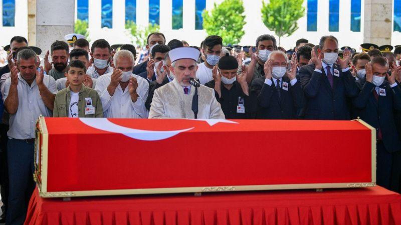 Şehit uzman Cengizhan Kaplan'a son görev