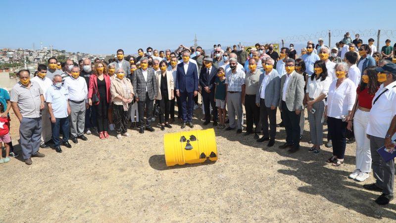 Soyer ve Arda'dan hükümete çağrı: Nükleer atıkları temizleyin