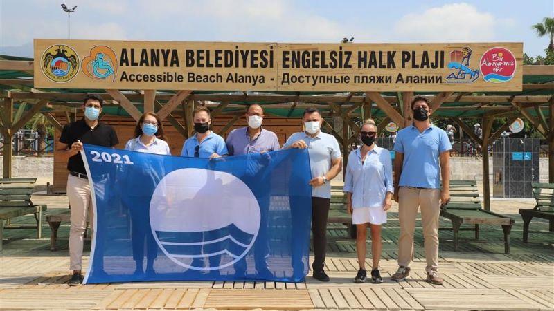 Türkiye'nin ilk Mavi Bayraklı Engelsiz Halk Plajı