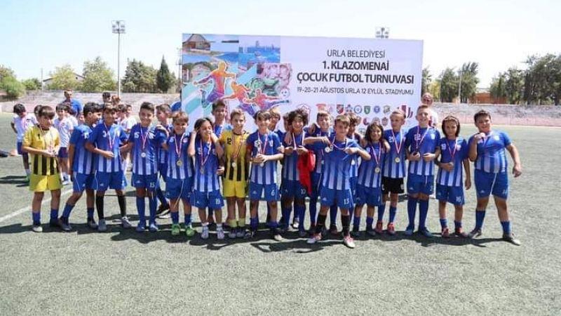 Klazomenai Çocuk Futbol Turnuvası sona erdi