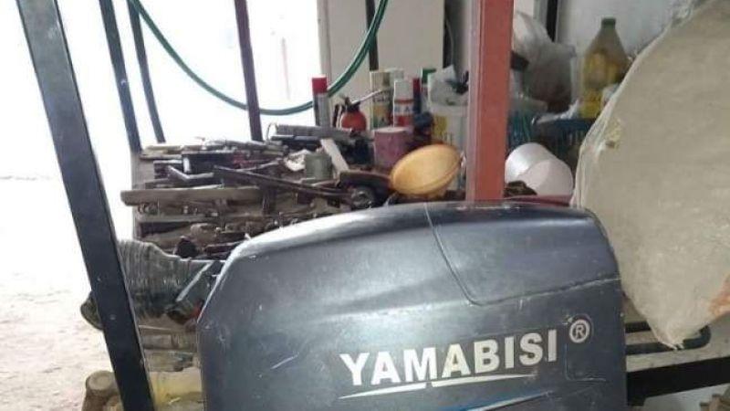 Urla'yı talan eden tekne motoru hırsızları serbest kaldı