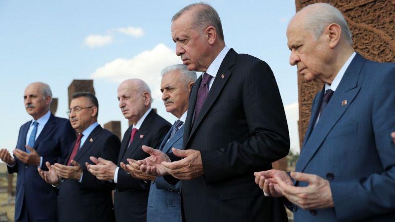 """Erdoğan: """"Dünyadaki her kritik meselede söz sahibi bir ülkeye dönüştük'"""